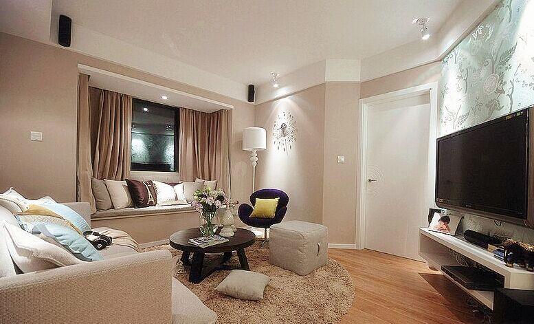荆南小区-73平方米-二居室-现代风格装修效果图 (6)