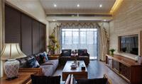 大河龙城140平米三居室中式风格装修效果图 (6)