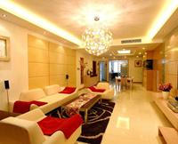 东方今典139平米三居室现代简约风格装修效果图 (8)