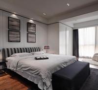 都市名座139平米四居室欧式风格装修效果图 (4)