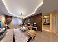 鼎恒阁115平米三居室欧式古典风格装修效果图 (4)