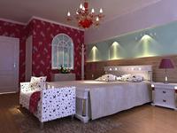 香逸美地80平米二居室现代简约风格装修效果图 (5)