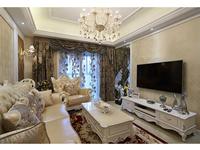 富华小区88平米二居室欧式风格装修效果图 (6)