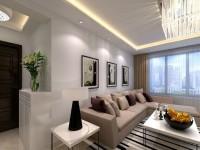 康乐小区-87平米三居室-现代简约装修效果图 (5)