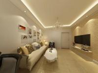 康乐小区-69平米二居室-现代简约装修效果图 (5)