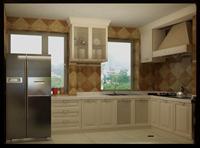 维多利亚96平米二居室简欧风格龙8国际pt老虎机效果图 (6)