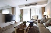 株洲奥园91平米二居室混合型风格龙8国际pt老虎机效果图 (6)