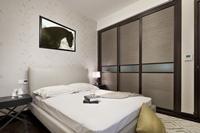 世代华庭84平米二居室现代简约风格装修效果图 (6)