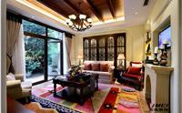 凤凰名苑256平米四居室中式风格装修效果图 (9)