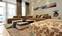 官井社区82平米二居室现代简约风格装修效果图 (5)