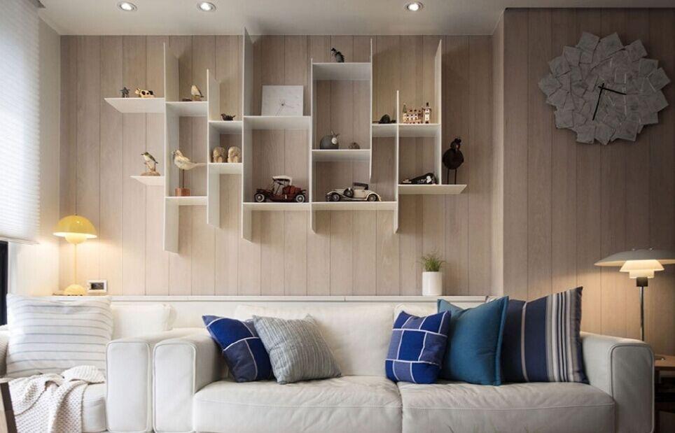 道庄小区-96平方米-二居室-现代风格装修效果图 (5)