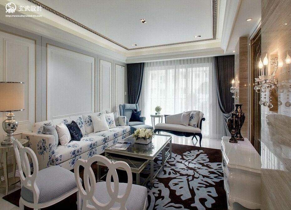和平小区-96平方米-二居室-现代风格装修效果图 (7)