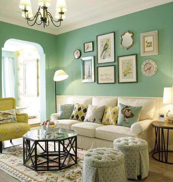 南海小区-101平方米-三居室-现代风格装修效果图 (6)
