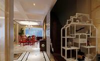公爵山庄—214平米—别墅—现代中式风格装修效果图 (5)