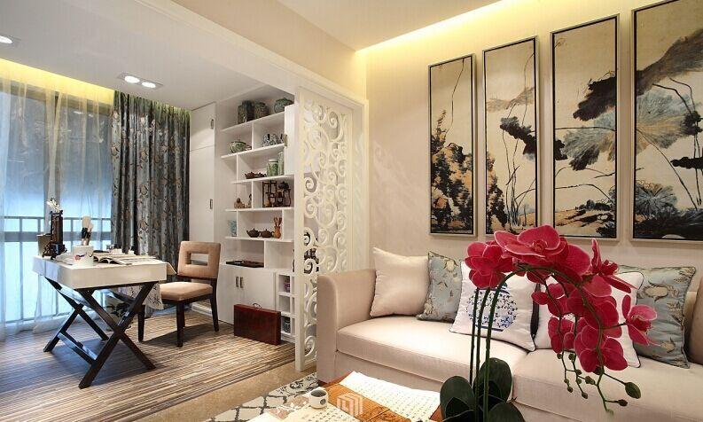 东苑小区-80平方米-二居室-现代简约风格装修效果图 (6)