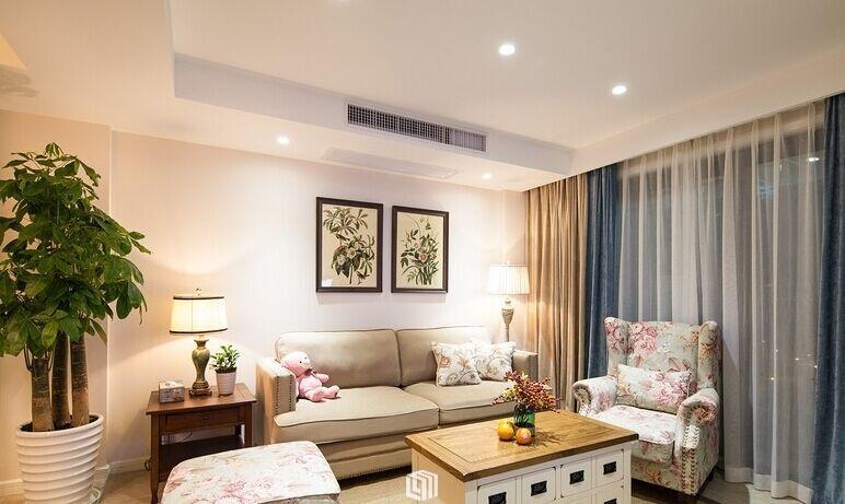 星河花园小区-96平方米-二居室-现代风格装修效果图 (7)