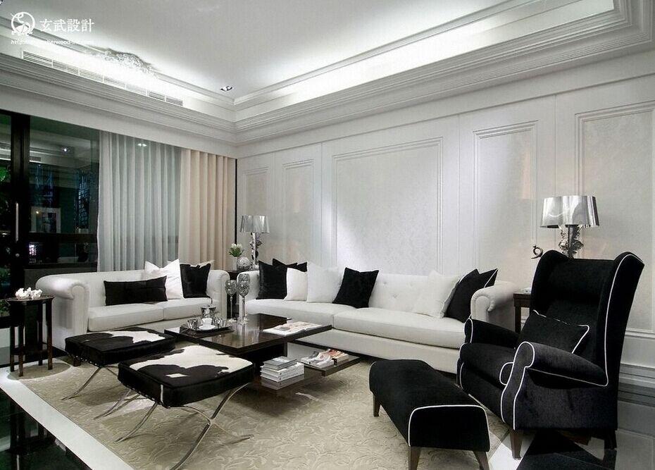 碧玉华府小区-120平方米-三居室-现代风格装修效果图 (7)