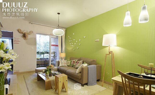天水嘉苑小区-100平方米-二居室-现代风格装修效果图 (6)