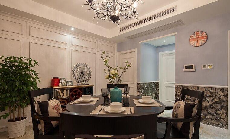 碧海明珠小区-90平方米-二居室-简欧风格装修效果图 (6)