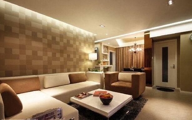 俪园小区-96平方米-二居室-现代风格装修效果图 (7)
