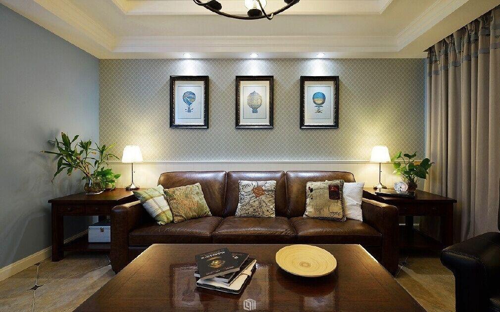 王辛小区-96平方米-二居室-现代风格装修效果图 (6)