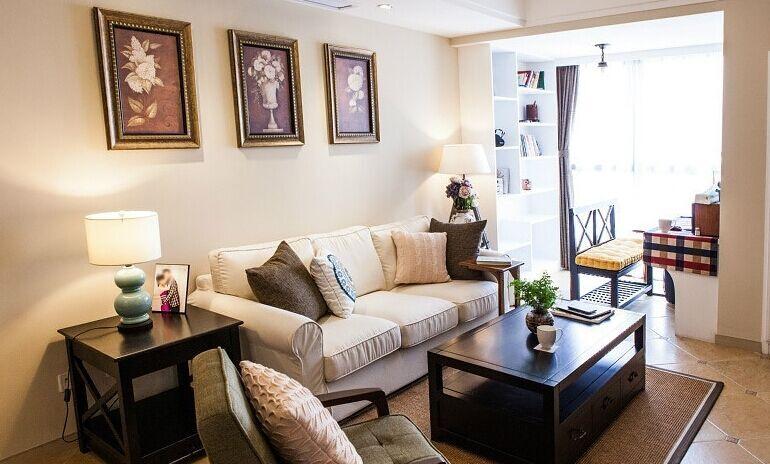 金茵小区-90平方米-二居室-现代风格装修效果图 (6)
