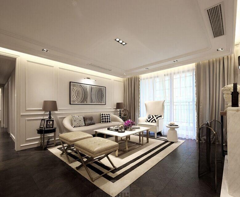 城中小区-112平方米-三居室-现代风格装修效果图 (7)