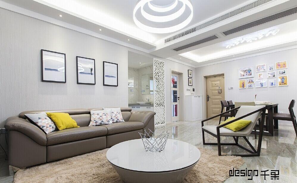 公安小区-90平方米-二居室-现代风格装修效果图 (8)