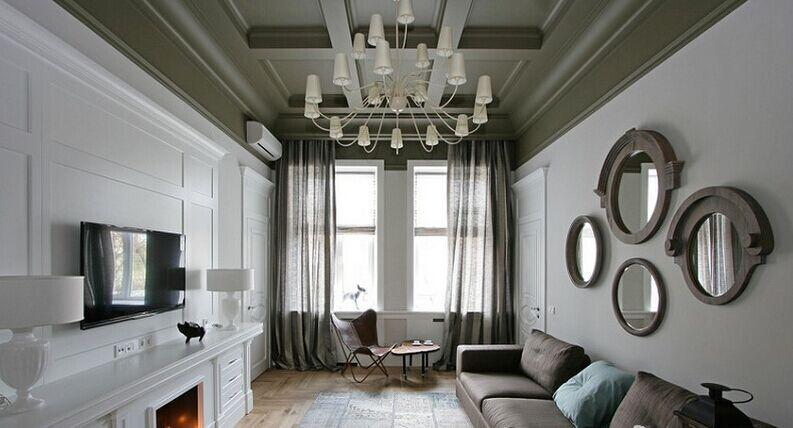 濠景小区-86平方米-二居室-现代风格装修效果图 (6)