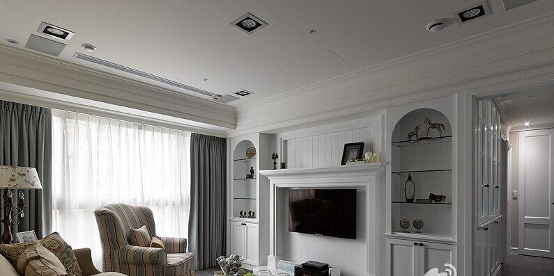 金桂小区-102平方米-二居室-欧式风格装修效果图 (5)