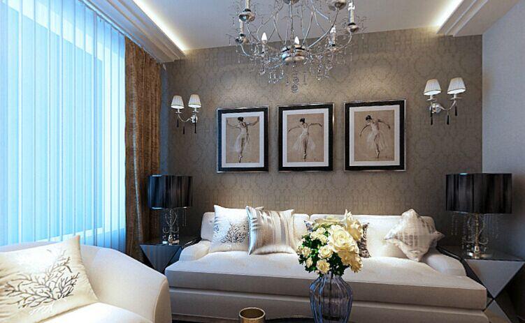 府西银谷小区-112平方米-二居室-欧式风格装修效果图 (6)