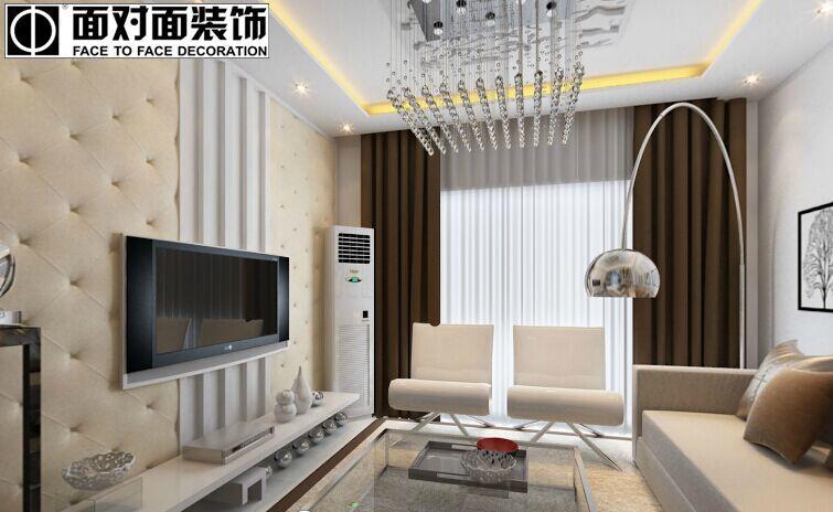 泛华盛世小区-97平方米-二居室-现代简约风格装修效果图 (4)