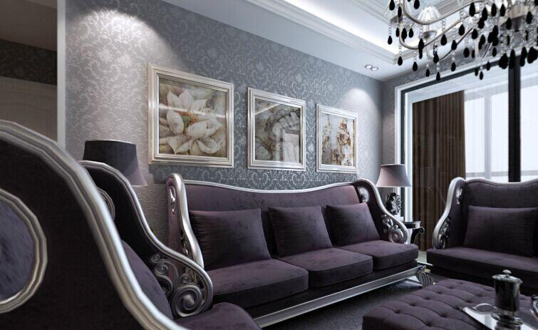 文华小区-92平方米-二居室-简欧风格装修效果图 (4)