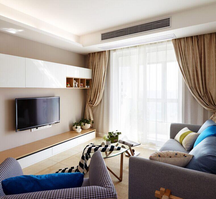 南香里小区-90平方米-二居室-现代风格装修效果图 (6)