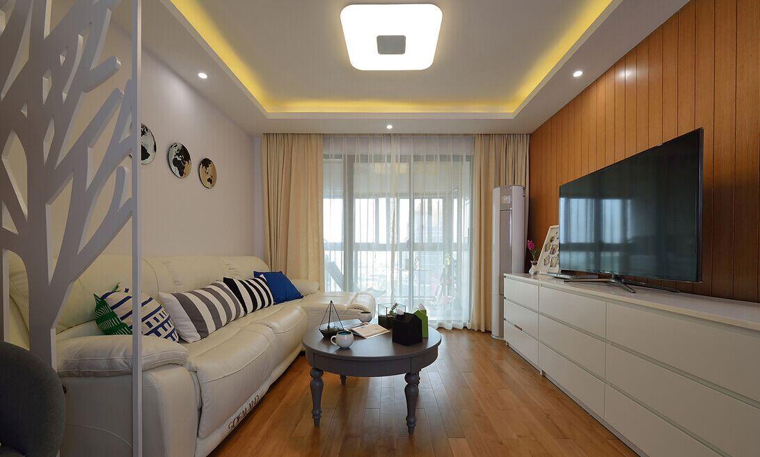 豪庭小区-92平方米-二居室-现代风格装修效果图 (7)