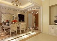 佳境天城141平米三居室欧式风格装修效果图 (4)