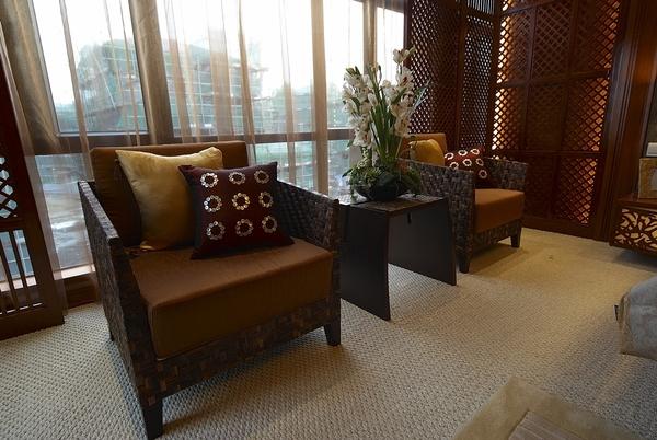 三里棚社区-118平米三居室东南亚风格装修效果图 (8)