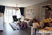 东苑小区-三居室-混合型风格乐虎国际登陆效果图 (8)