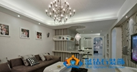 黄海城市花园-110平米-三居室-现代简约风格装修效果图 (5)