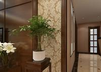 城市之星—132平米—四居室—中式风格装修效果图 (4)