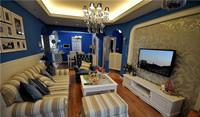 明珠花园—92平米—二居室—地中海风格装修效果图 (4)