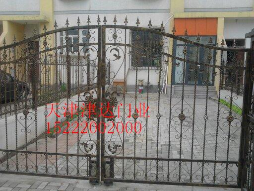 天津铁艺厂家,铁艺大门安装,铁艺围栏销售