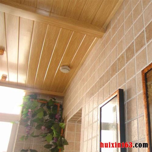 阳台装修使用什么吊顶比较好