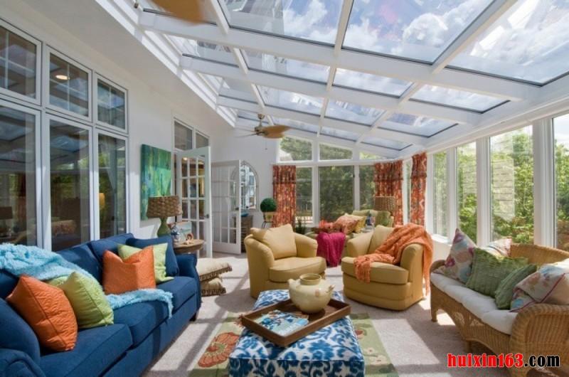 阳光房设计流行的趋势