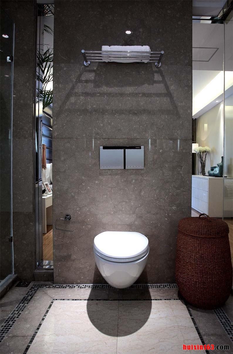 悬空式马桶厕所