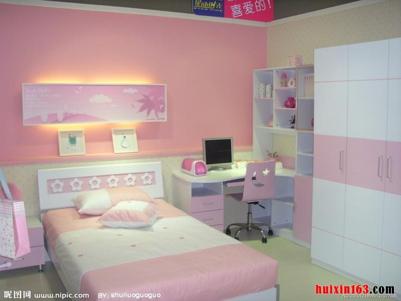色彩颜色的儿童房的创新设计格局