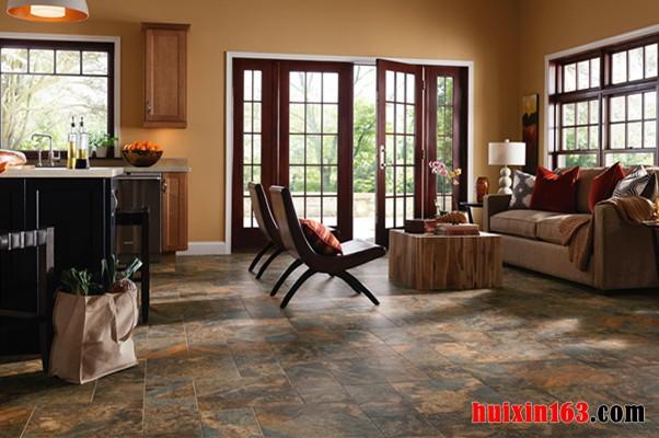 客厅地板砖搭配效果图欣赏