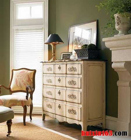 欧式古典家具样板间的装饰设计案例