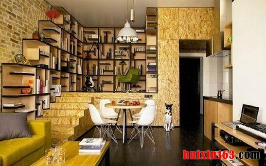 个性十足loft小公寓装饰设计案例