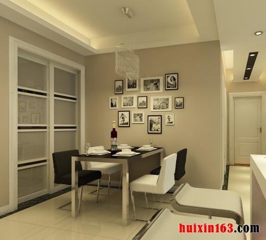 餐厅的空间可以高出客厅50公分,也可以低于客厅50公分,形成一个台阶